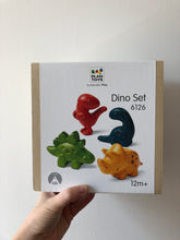 Load image into Gallery viewer, Plan Toys Dino Set