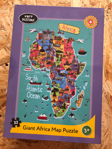 Very Puzzled 32 piece Africa Puzzle