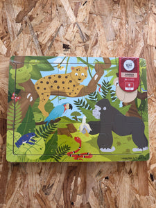 Bigjigs 9 piece Rainforest Puzzle
