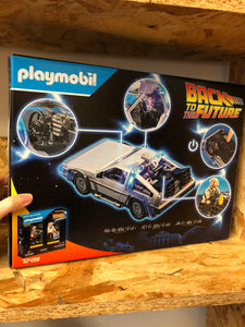 Playmobil - Back to the Future Delorean