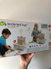 Load image into Gallery viewer, Tender Leaf Toys Ice Cream Cart