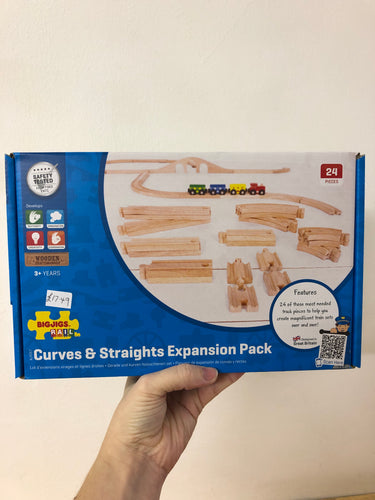 Bigjigs Curves and Straights Expansion Pack