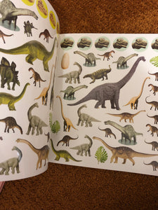 Eye Like Sticker Book - Dinosaurs
