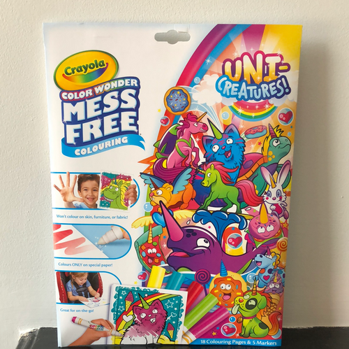 Crayola - Color Wonder Uni-Creatures Foldalope