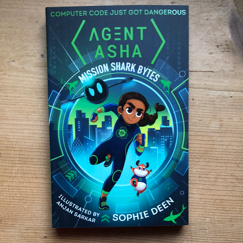 Agent Asha: Mission Shark Bytes