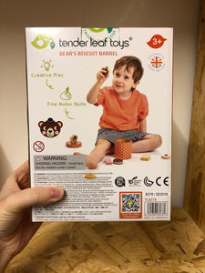 Tender Leaf Toys Bear's Biscuit Barrel