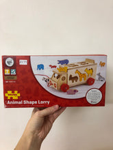 Load image into Gallery viewer, Bigjigs Animal Shape Lorry