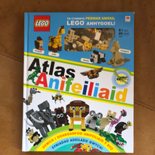 Load image into Gallery viewer, LEGO Book - Atlas Anifeiliaid