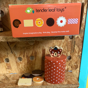 Toy Library NOT FOR SALE - Tender Leaf Toys Biscuit Barrel