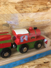 Load image into Gallery viewer, BigJigs Rail - Christmas Train