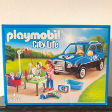 Load image into Gallery viewer, Playmobil - Mobile Dog Groomer Set