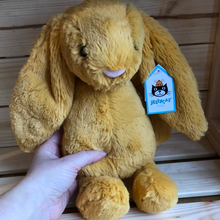 Load image into Gallery viewer, Jellycat Medium Bashful Saffron Bunny