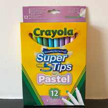 Load image into Gallery viewer, Crayola - Pastel Supertip Markers