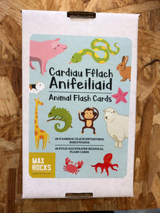Max Rocks Welsh Language Flashcards