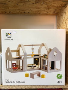 Plan Toys Slide N Go Dollhouse