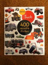 Load image into Gallery viewer, Eye Like Trucks Sticker Book