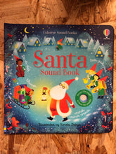 Load image into Gallery viewer, Santa Sound Book
