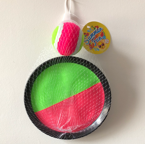 Velcro Throw and Catch Ball set