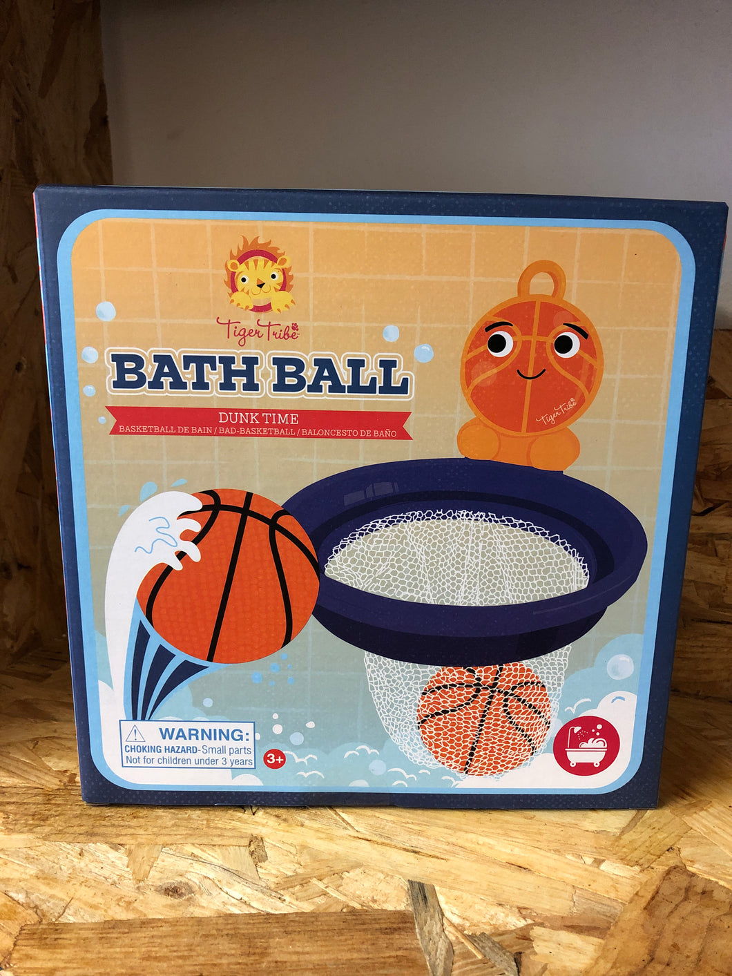 Tiger Tribe - Bath Ball Dunk Time