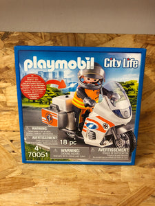 Playmobil - City Life Emergency Bike