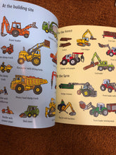 Load image into Gallery viewer, Usborne First Sticker Book - Diggers