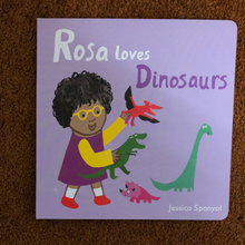 Load image into Gallery viewer, Rosa loves Dinosaurs