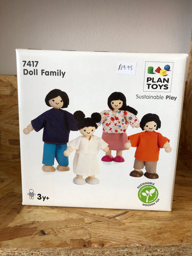 Plan Toys - Doll Family