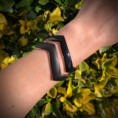CHEVRON 2 CUFF SET