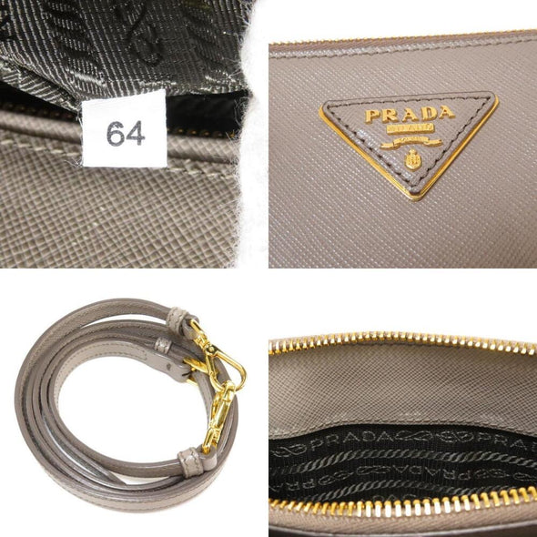 Prada 2WAY Handbag Leather Ladies