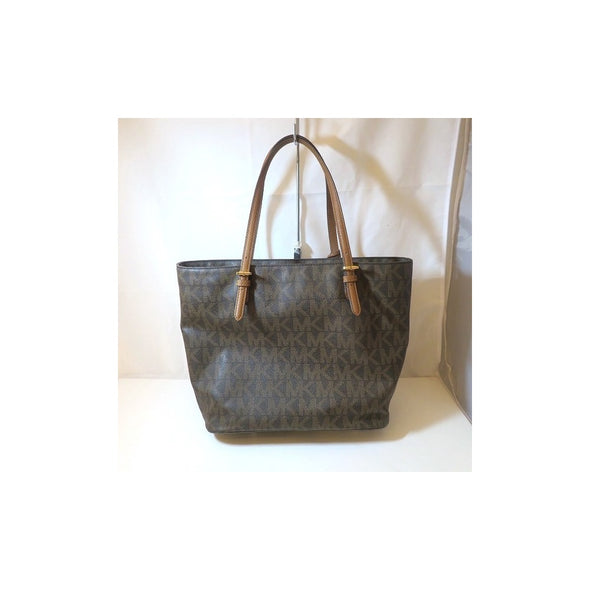 Michael Kors Brown PVC Bag Tote Ladies