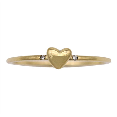 AHKAH Diary Yellow Gold (18K) Casual Diamond Anniversary Ring Yellow Gold
