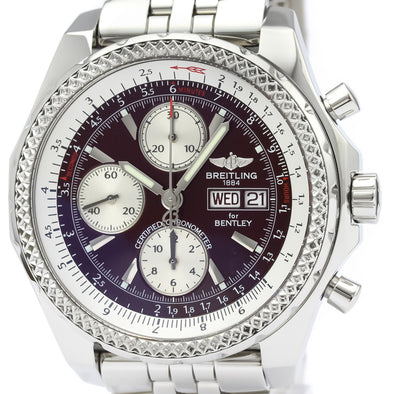 Breitling Bentley Automatic Stainless Steel Men's Sports Watch A13362
