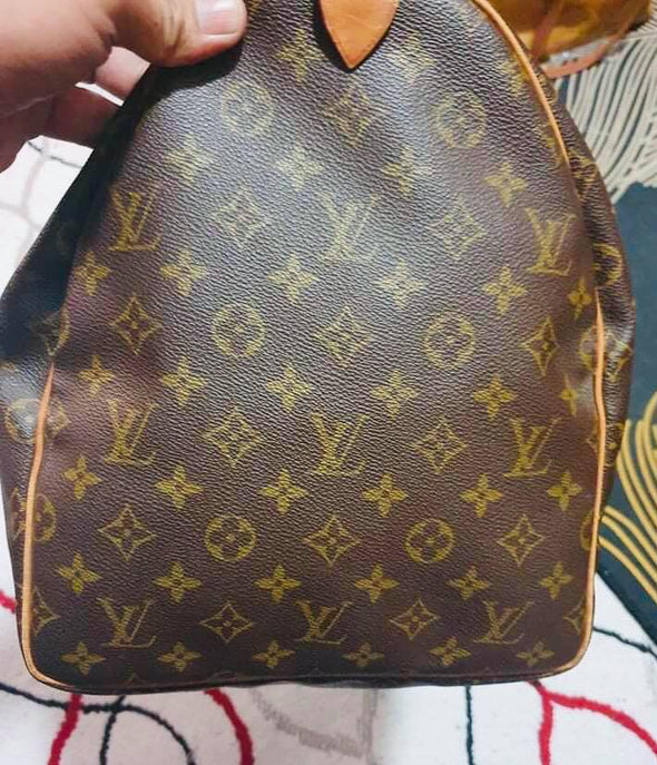 Authentic Louis Vuitton Beautiful Keepall 55 Hold All Travel Bag Hand Gym Luggage - www.luxurydesignerscollections.com