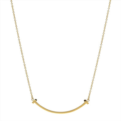 Tiffany Tiffany T T Smile Yellow Gold (18K) Pendant (Yellow Gold)