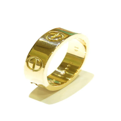 Cartier Love Ring Ladies K18YG Yellow Gold No. 6.5
