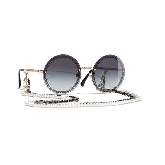 Chanel - 2019 Ss Chanel Round Sunglasses - In Stores Now