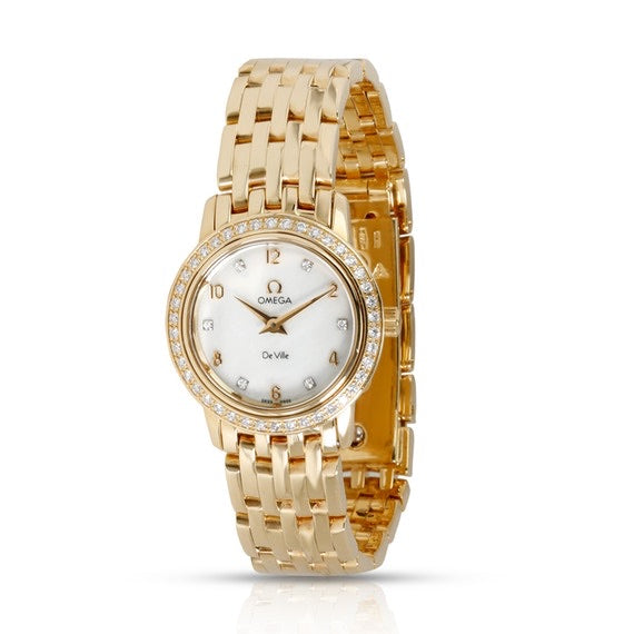 Omega - Omega Deville Prestige 4175.75.00 Women's Watch In 18kt Yellow Gold