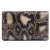 DEE FIRENZE PHYTON CLUTCH PB03 CLUTCH SMALL PITONE BLUE GREY - Luxury Designers Collections