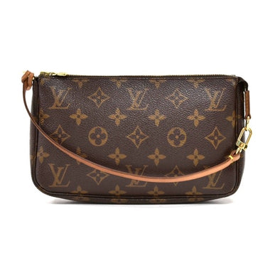Louis Vuitton- Louis Vuitton Pochette Accessoire Monogram Canvas Handbag LT307
