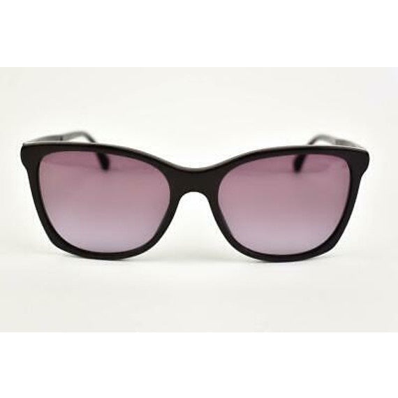 "Chanel - Chanel ""signature"": Dark Bordeaux & ""cc"" Logo Sunglasses (ns)"