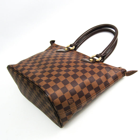 Louis Vuitton Damier Saleya PM N51183 Women's Handbag Ebene