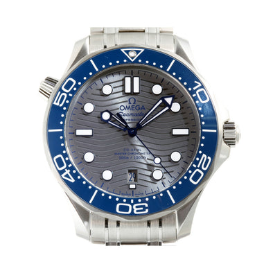 OMEGA Seamaster Diver 300M Co-Axial Master Chronometer Steel Mens Watch 210.30.42.20.06.001