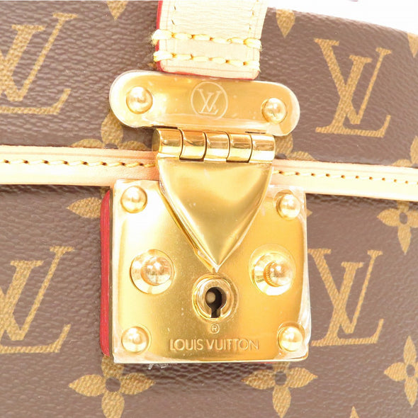 Louis Vuitton Monogram Bowt Shapo 40 M23624 Hat Case Handbag TE CHAP.40 MNG 0090 LOUIS VUITTON