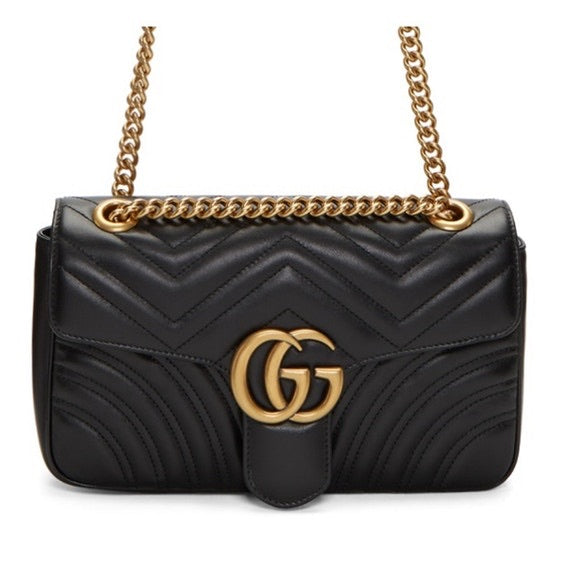 Gucci - New Gucci Gg Marmont Small Matelasse Shoulder Bag