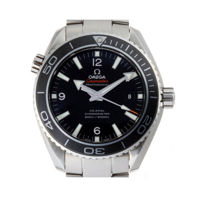 Omega Seamaster Planet Ocean Mens Watch 232.30.46.21.01.001 Stainless Steel Black Dial