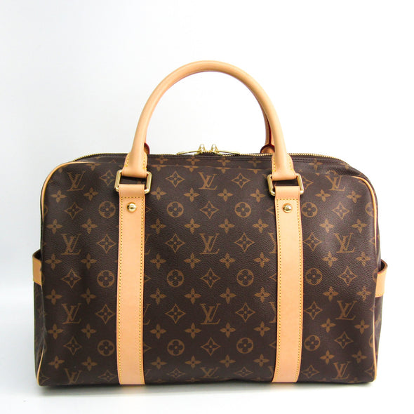Louis Vuitton Monogram Carryall M40074 Unisex Boston Bag Monogram