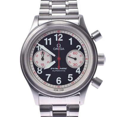OMEGA Omega dynamic chronograph Targa Florio 1973 limited 5241.51 men's SS watch automatic winding black dial