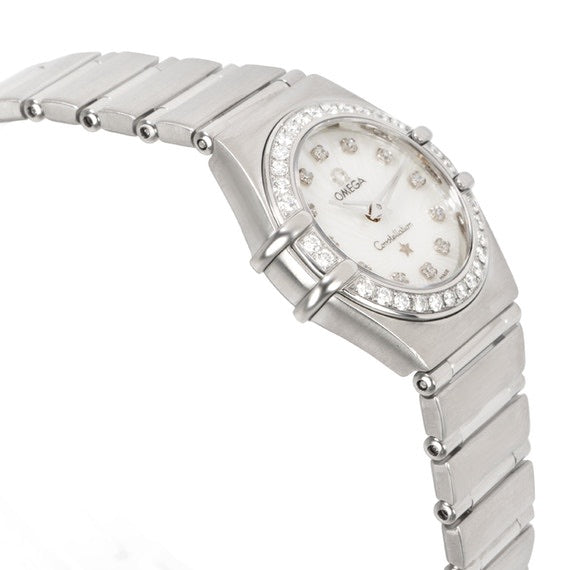 Omega - Omega Constellation 111.15.23.60.55.001 Women's Watch In Stainless Steel