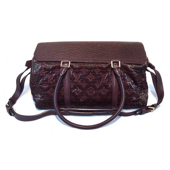 Louis Vuitton - Louis Vuitton Limited Edition Monogram Volupte Bordeaux Psyche Bag