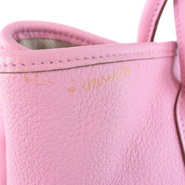 HERMES Hermes Garden Party 30 TPM Baffle Sindhu Pink □ M Engraved Ladies Handbag